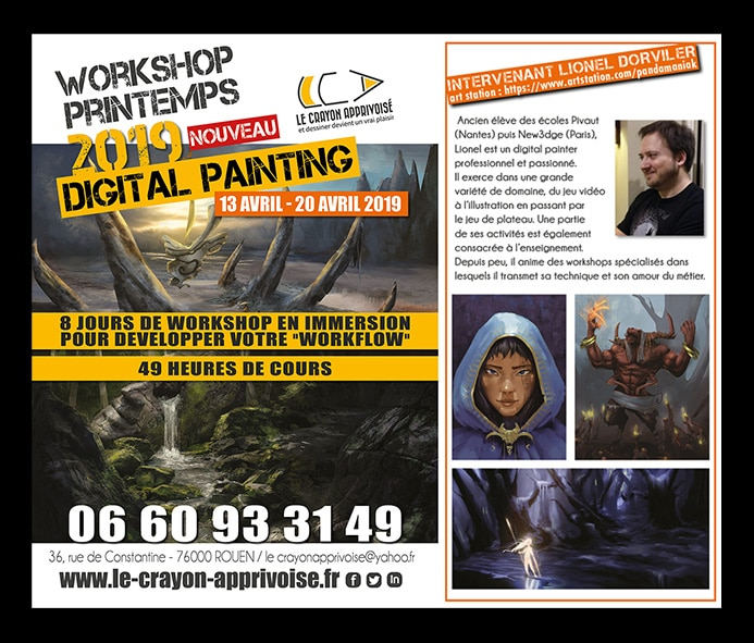 workshop digital painting